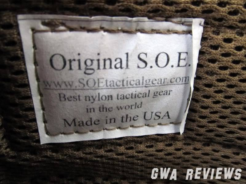 SOE Gear iPad Sleeve Tag