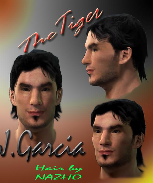 Faces by THETIGER - gaby Milito GARCIA_BY_TIGER