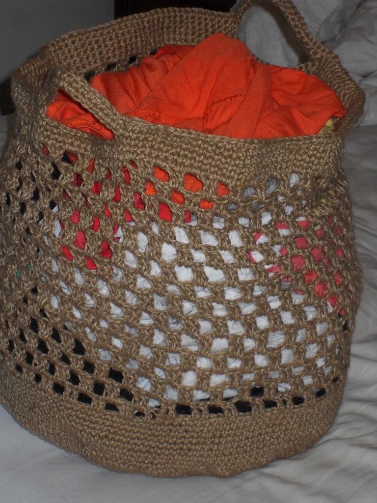 jute laundry basket 022