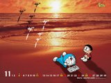 [Wallpaper + Screenshot ] Doraemon Th_Doraemon-Relaxing-On-The-Beach-1-1024x768