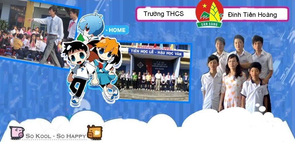 Diển Đàn Trường THCS Đinh Tiên Hoàng