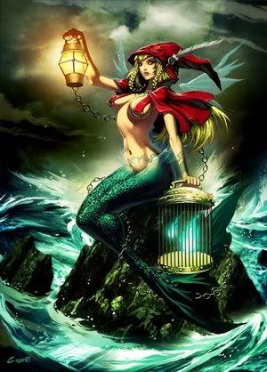 Summon: The Siren Merrow_by_GENZOMAN