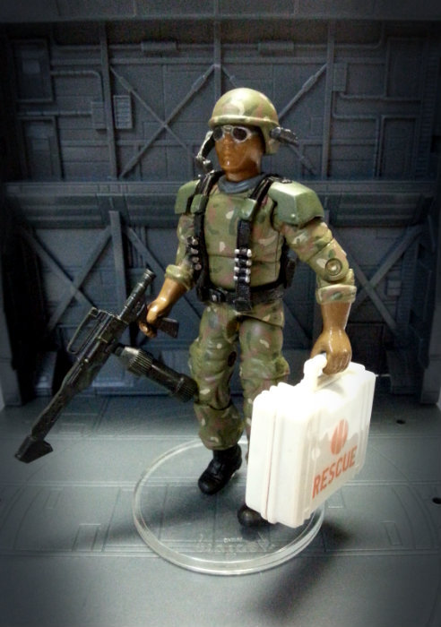 "Colonial Marines Carl ""Doc"" Greer Doc_1"