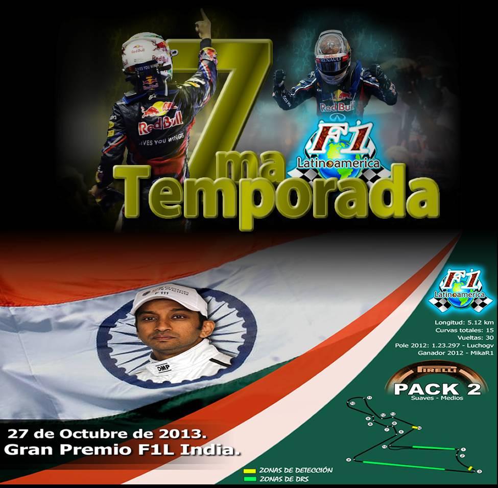 Round 16 Gran Premio de India F1L 2013. PORATADA_PORTALINDIA_zps221dfc10