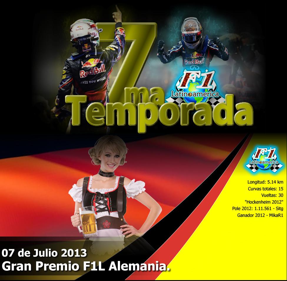 "Round 9 Gran Premio F1L Alemania ""Hockenheim"" 2013. PORATADA_PORTALalemania_zps9f726a2a"