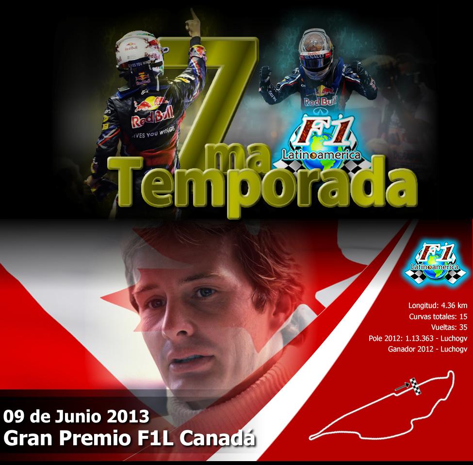 Round 7 Gran Premio F1L Canadá 2013. PORATADA_PORTALcanda_zps069e2f74