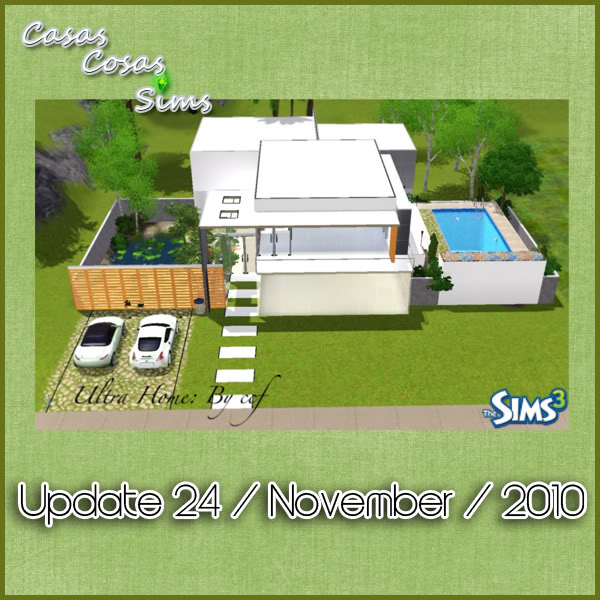 The Sims 3 Updates - 27/11/2010 Casascosas