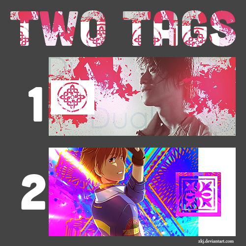 two tagis c: . Tags