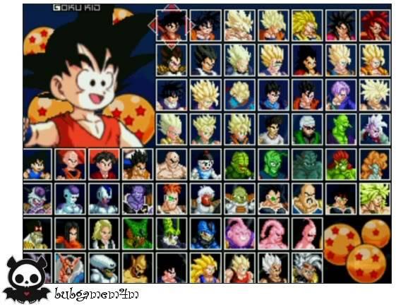 Dragon Ball Z MUGEN Edition 2011 DragonBallZMUGENEdition20112
