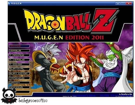 Dragon Ball Z MUGEN Edition 2011 DragonBallZMUGENEdition20113