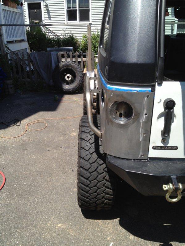 River Raider Armor Install Fender1