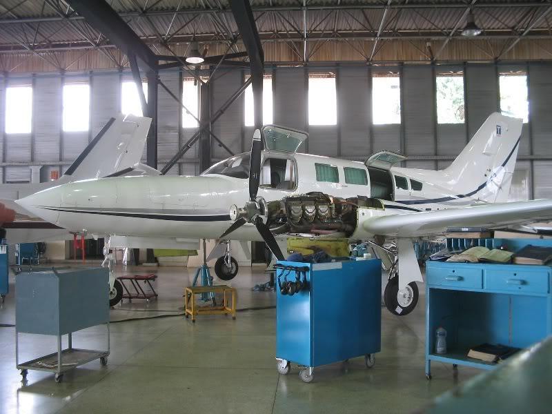 Manutenção em aeronaves! 06