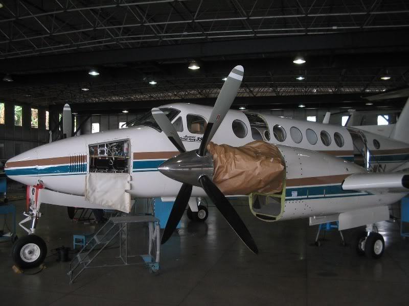 Manutenção em aeronaves! 10