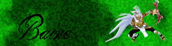 My GFX[*UPDATE] BannerBaine