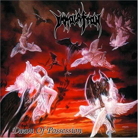Immolation - Dawn Of Possession (1991) Immolation_dawnofpossession