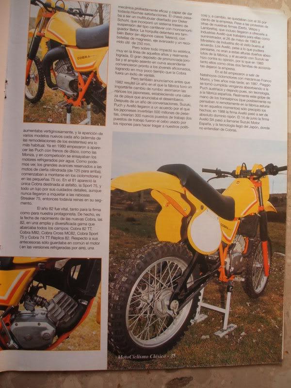 Puch Cobra M-82 C Agua - Artículo Motociclismo Clásico Cobra3