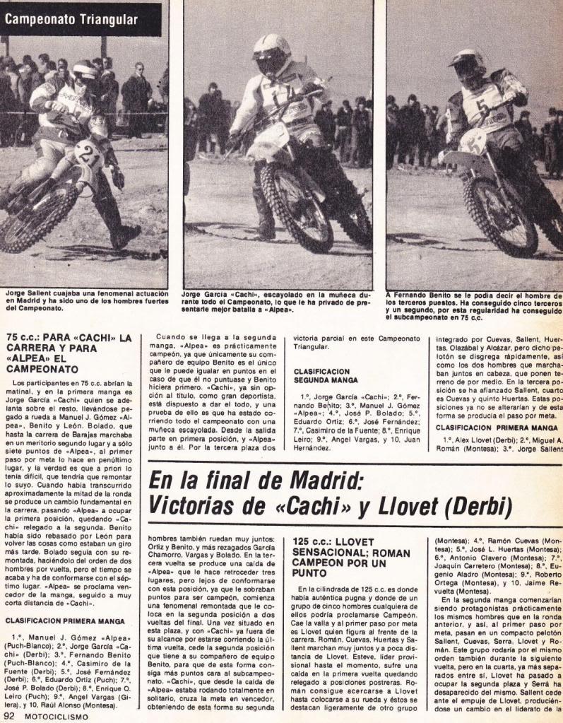 Motociclismo 635 - Diciembre 1979 - Triangular Motocross Juvenil I4