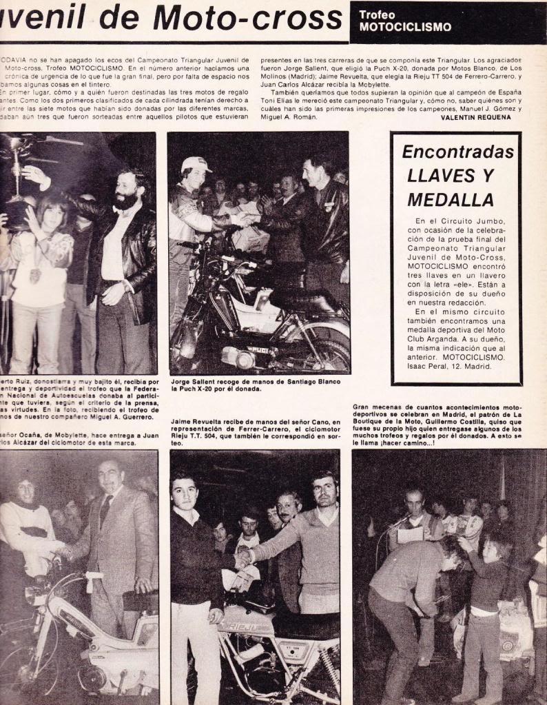 Motociclismo 636 - Diciembre 1979 - Triangular Juvenil Motocross N02