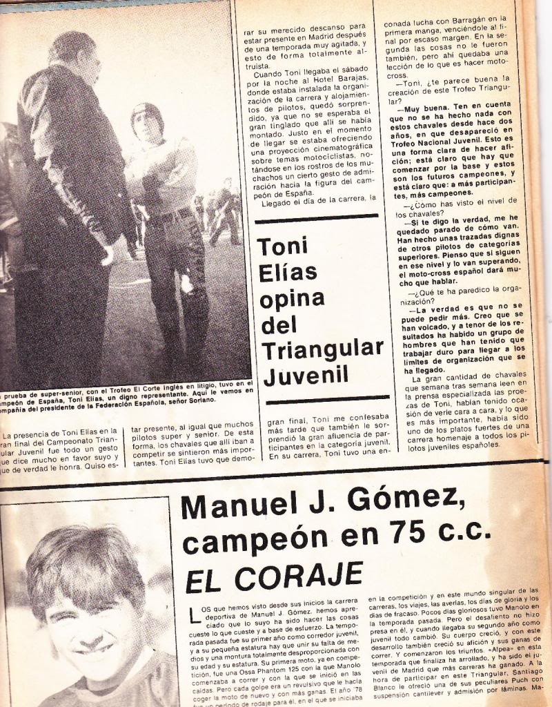 Motociclismo 636 - Diciembre 1979 - Triangular Juvenil Motocross N03