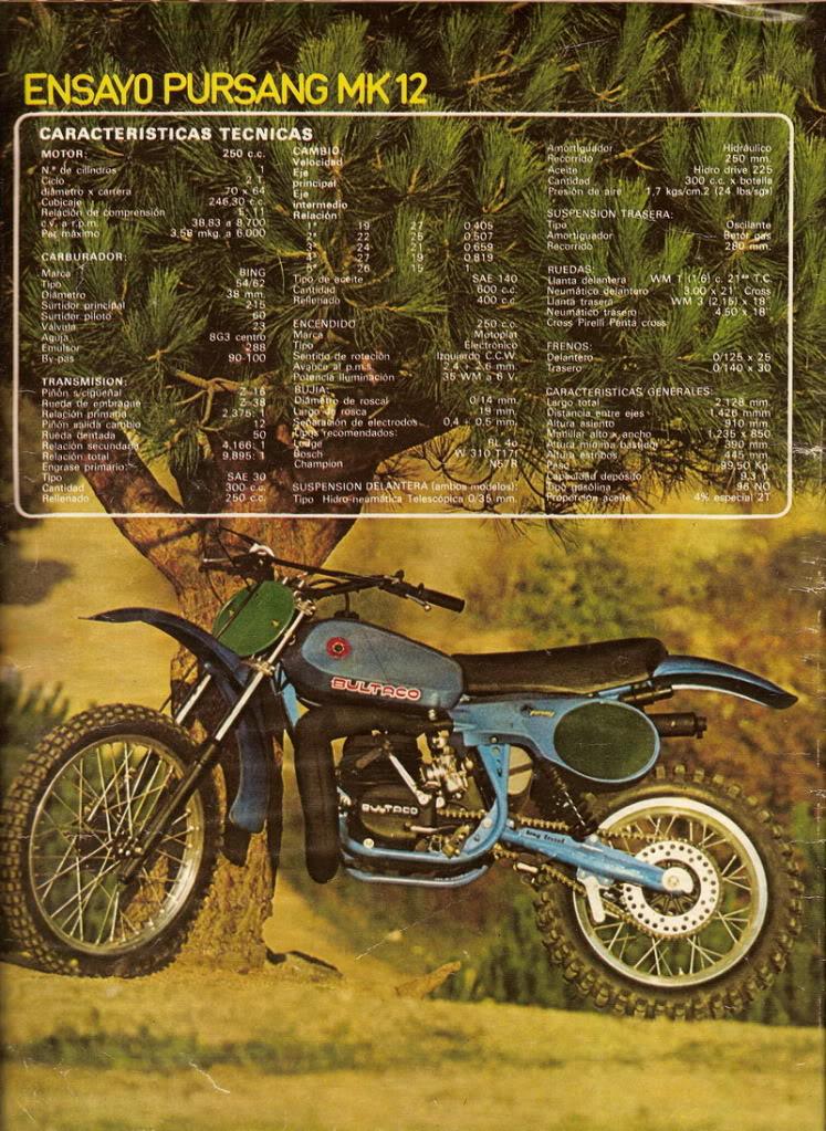 Bultaco Pursang 250 MK12 - Solo Moto P2