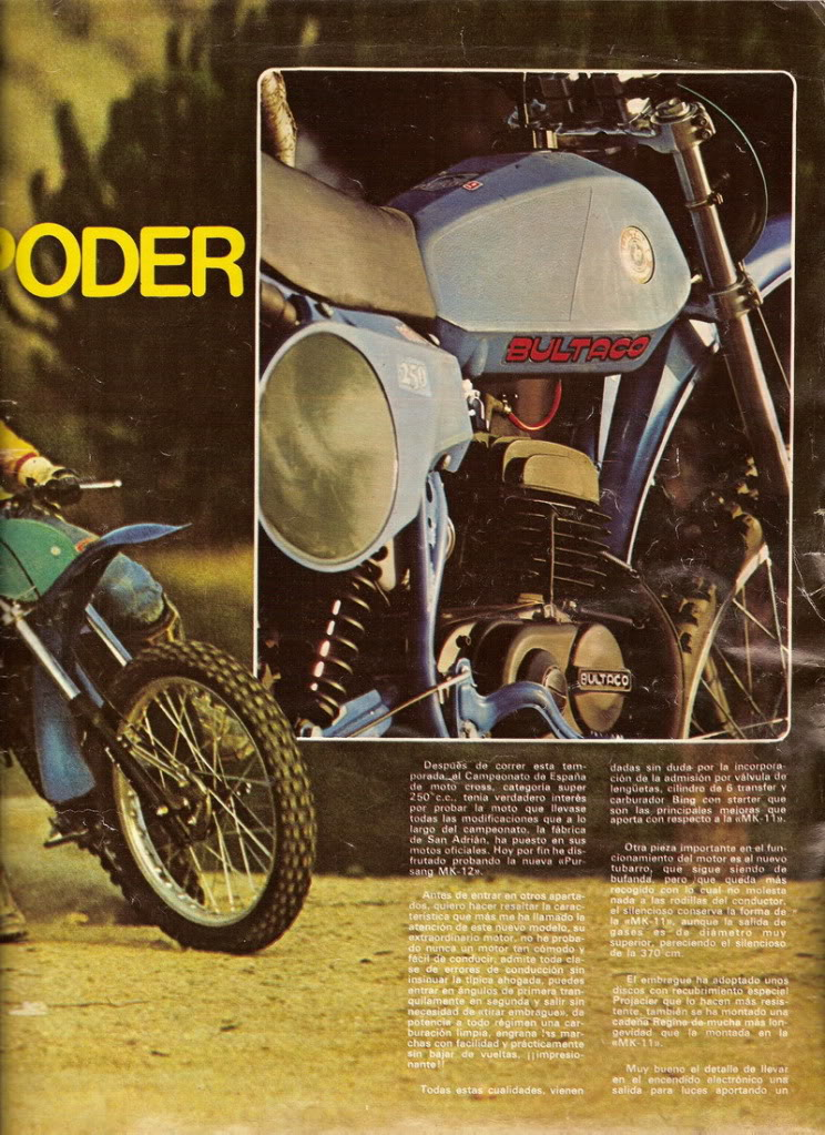Bultaco Pursang 250 MK12 - Solo Moto P3