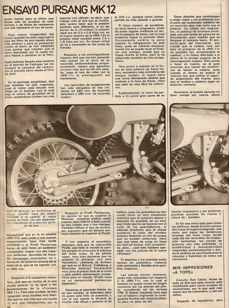 Bultaco Pursang 250 MK12 - Solo Moto P4