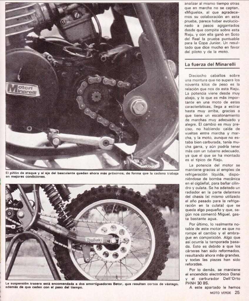 Rieju 80 Competición - Moto Verde 61 - Agosto 1983 R3