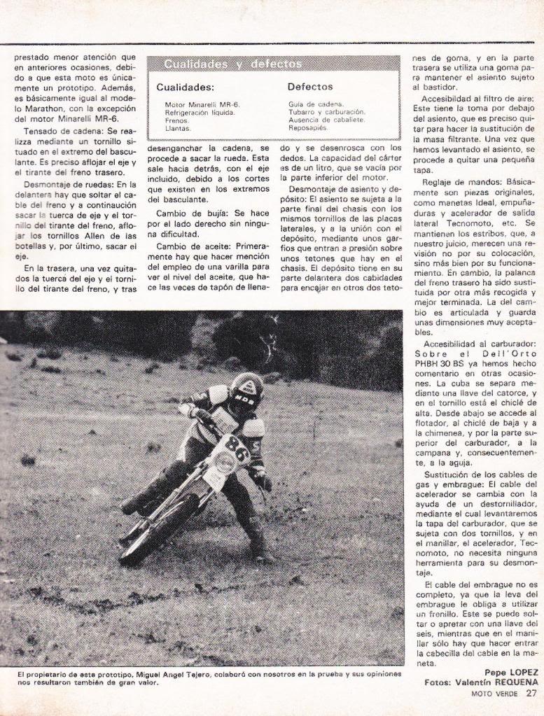 Rieju 80 Competición - Moto Verde 61 - Agosto 1983 R6