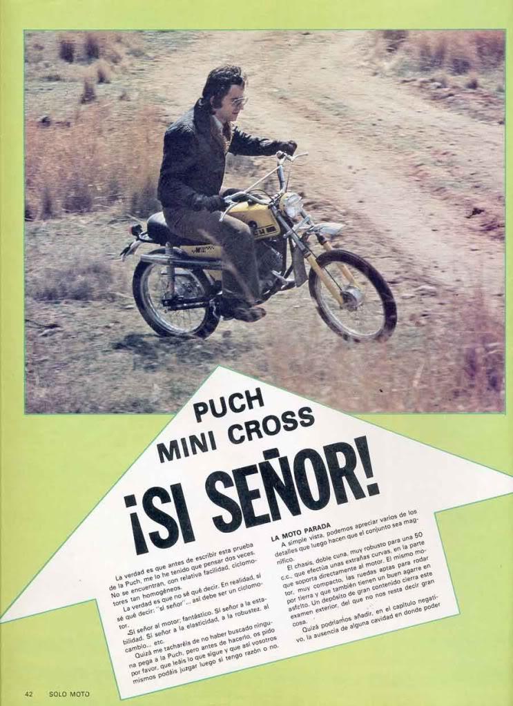 Solo Moto ??? - ??? - Puch MiniCross MC 50 Mini Solo