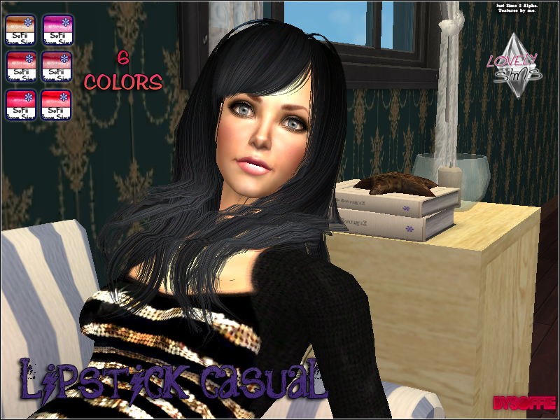 LovelySims - Página 2 Lipstickcasual