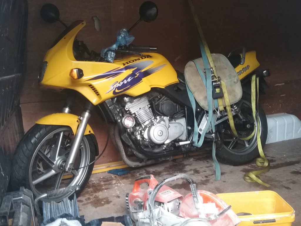 Build of two cb500 race bikes/tracl day bikes. From the ground up 20161106_135735_zps0tajaexs