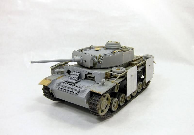 PANZER III Ausf.M/N TANK DRAGON 1:35 SCALE KIT 9015 GERMAN  IMG_0061