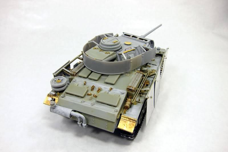 PANZER III Ausf.M/N TANK DRAGON 1:35 SCALE KIT 9015 GERMAN  IMG_0067