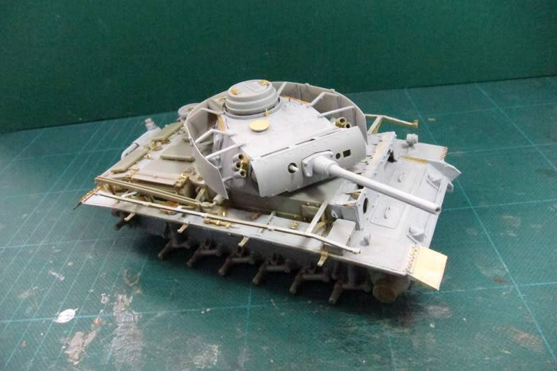 PANZER III Ausf.M/N TANK DRAGON 1:35 SCALE KIT 9015 GERMAN  IMG_0164-1
