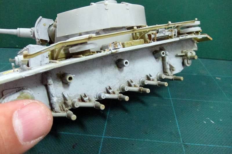 PANZER III Ausf.M/N TANK DRAGON 1:35 SCALE KIT 9015 GERMAN  IMG_0170