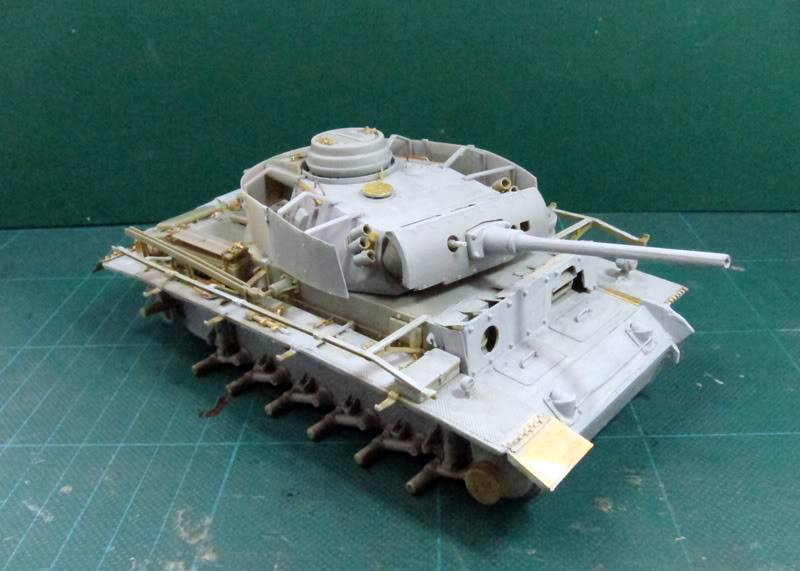 PANZER III Ausf.M/N TANK DRAGON 1:35 SCALE KIT 9015 GERMAN  IMG_0171