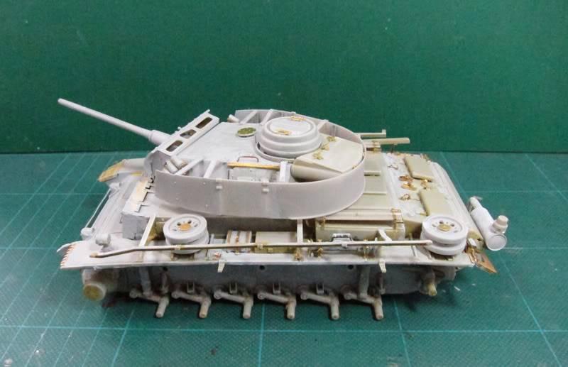 PANZER III Ausf.M/N TANK DRAGON 1:35 SCALE KIT 9015 GERMAN  IMG_0179
