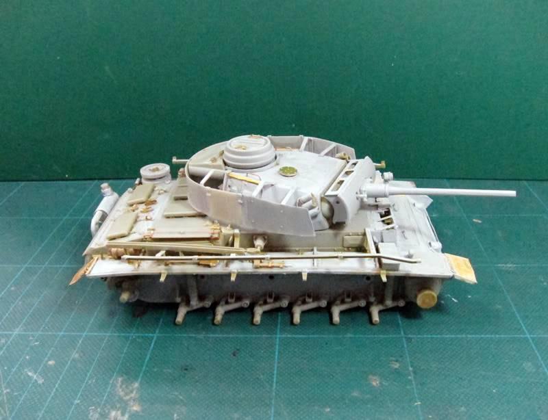 PANZER III Ausf.M/N TANK DRAGON 1:35 SCALE KIT 9015 GERMAN  IMG_0181-1