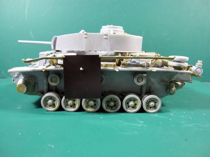 PANZER III Ausf.M/N TANK DRAGON 1:35 SCALE KIT 9015 GERMAN  IMG_1051