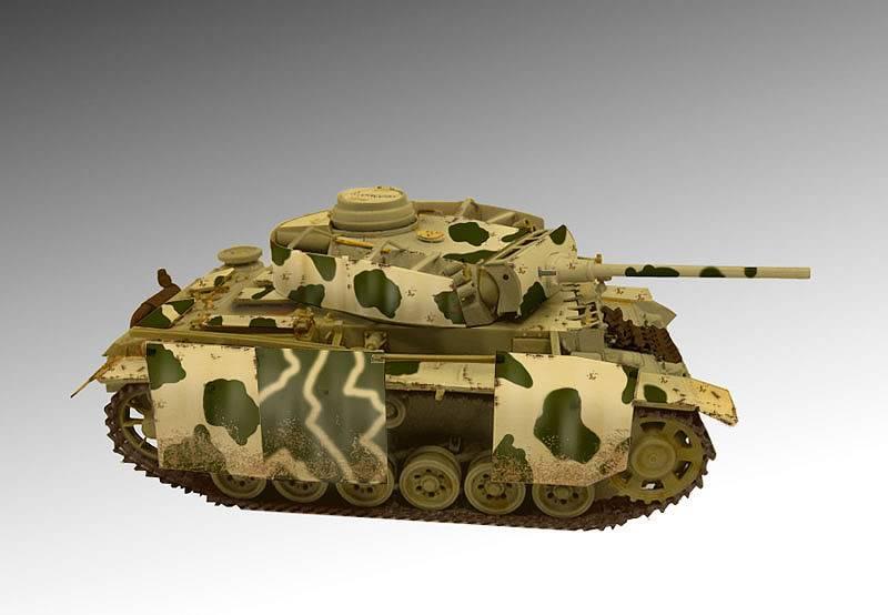 PANZER III Ausf.M/N TANK DRAGON 1:35 SCALE KIT 9015 GERMAN  PZIII-PATTERN
