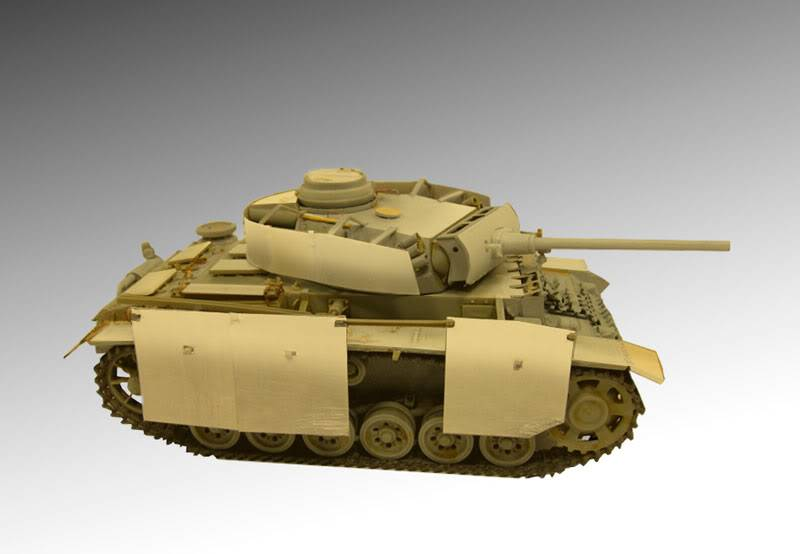 PANZER III Ausf.M/N TANK DRAGON 1:35 SCALE KIT 9015 GERMAN  PZIII-PATTERN2