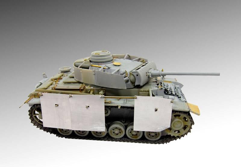 PANZER III Ausf.M/N TANK DRAGON 1:35 SCALE KIT 9015 GERMAN  PZIII-PATTERN3