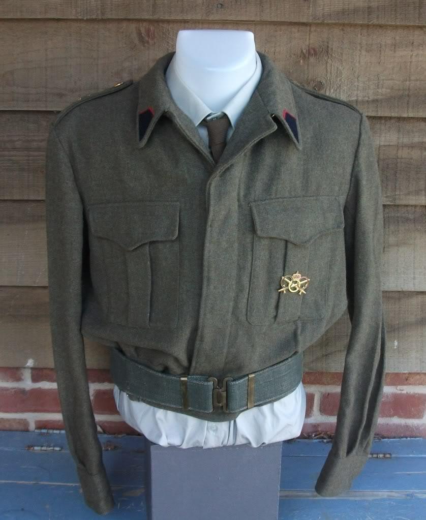 Belgian Battledress Jacket DSCF1552