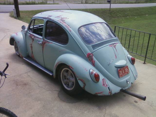 66 just painted her... almost done. =] Greenbug1