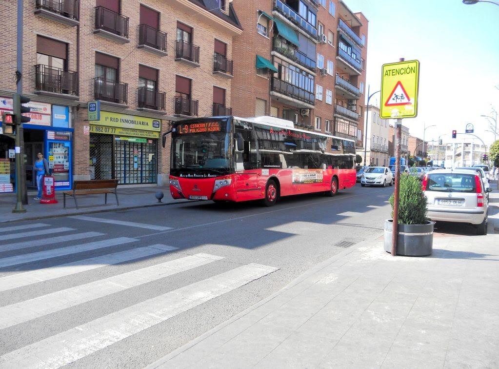 Autobuses urbanos de Alcalá de Henares DSCN2491