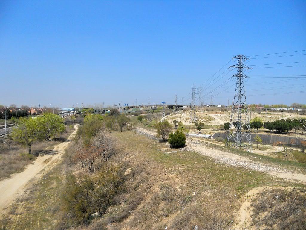 Futura vía verde: Campamento-Las Águilas-Alcorcón-Leganés-Polvoranca DSCN2520