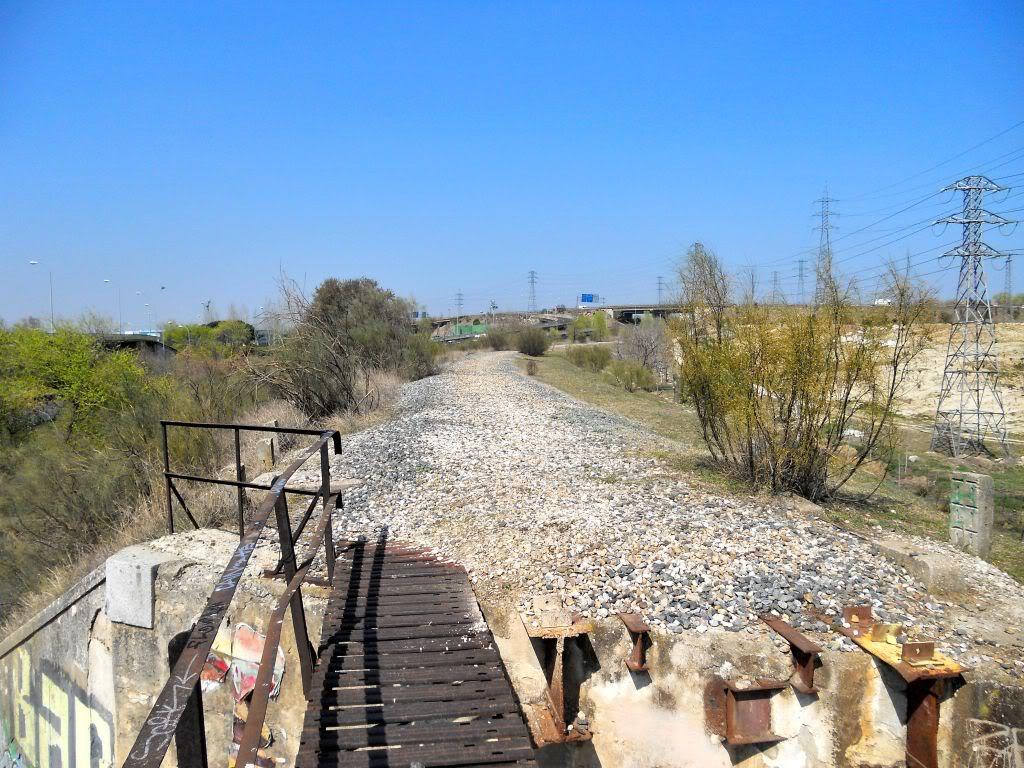 Futura vía verde: Campamento-Las Águilas-Alcorcón-Leganés-Polvoranca DSCN2524