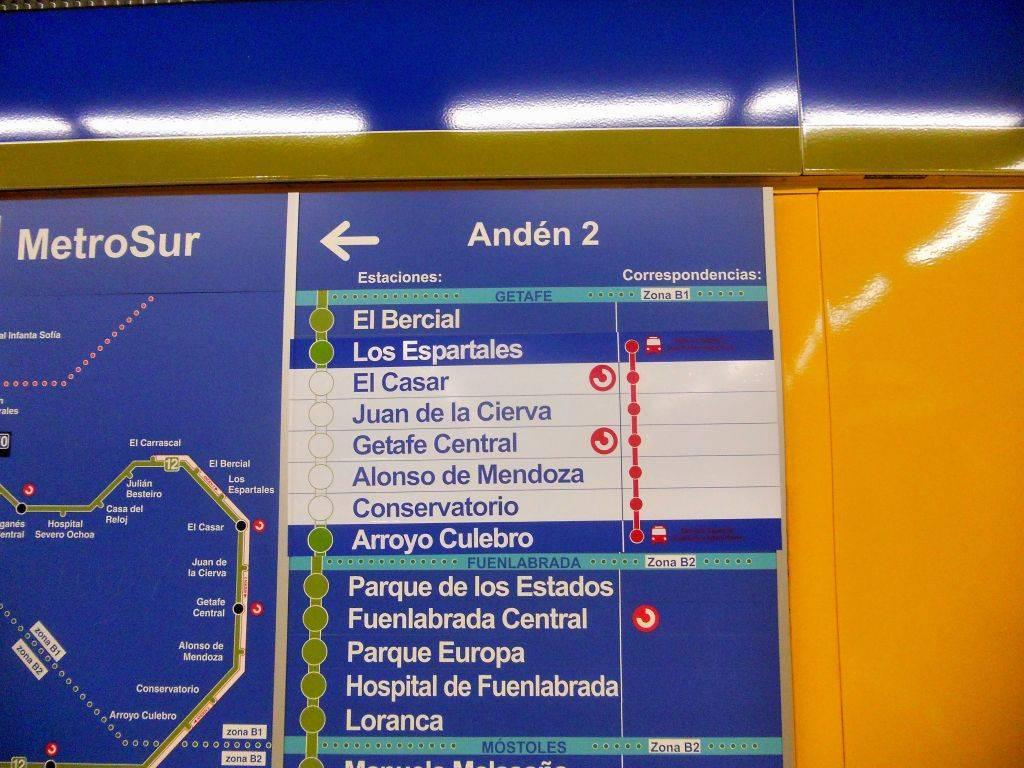 Cierre de Metrosur por problemas de cimentación durante el verano de 2012 DSCN4403