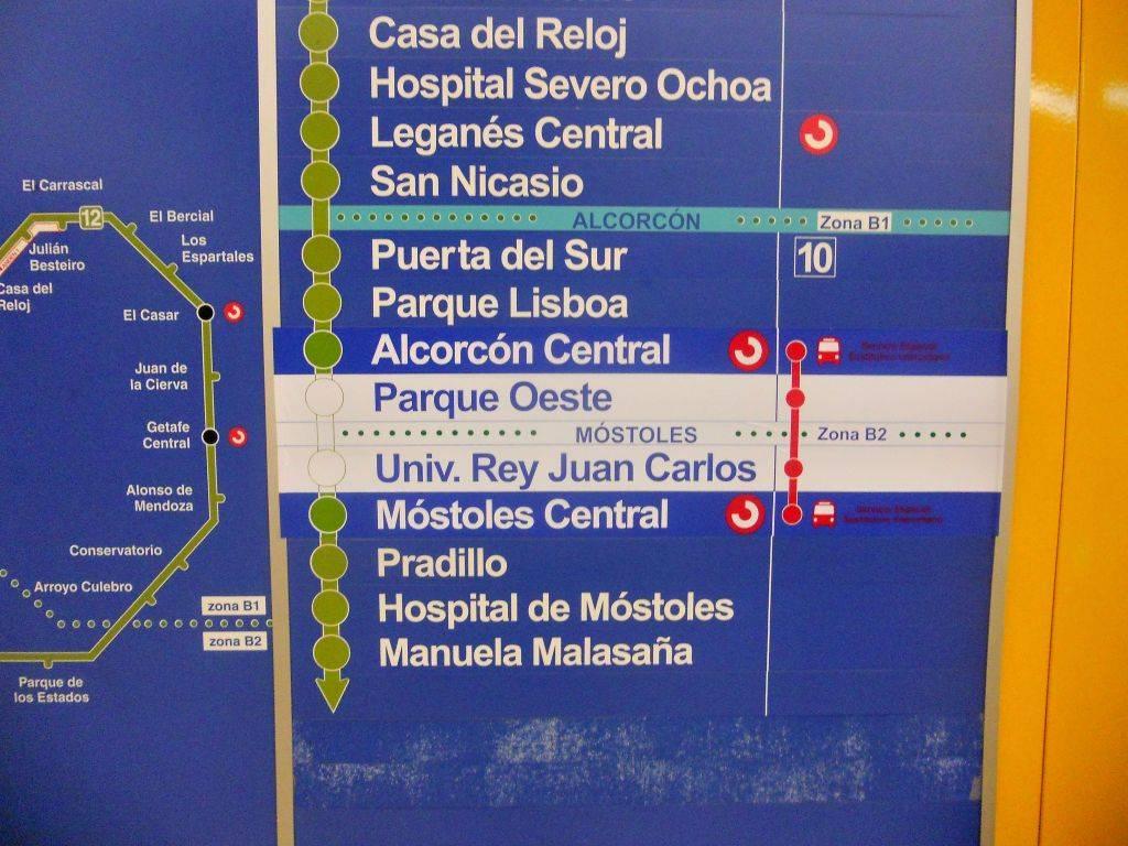Cierre de Metrosur por problemas de cimentación durante el verano de 2012 DSCN4404
