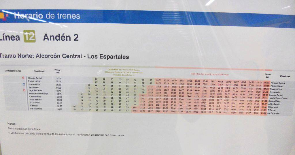 Cierre de Metrosur por problemas de cimentación durante el verano de 2012 DSCN4405